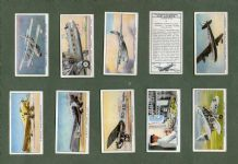 Cigarette cards International Air liners Imperial Airways ,Flying Boat,